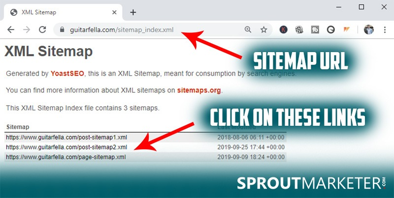 Using-Sitemaps-to-find-competitors-keywords