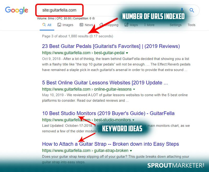 Use Google to Find Competitor Keywords